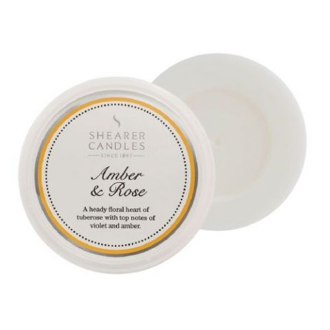 Amber & Rose Scented Wax Melt - Shearer Candles
